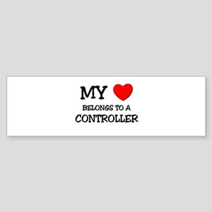My Heart Belongs To A CONTROLLER Bumper Sticker