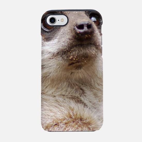 Alert Meerkat iPhone 7 Tough Case