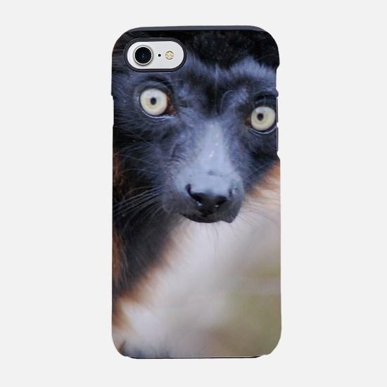 Red Ruffed Lemur iPhone 7 Tough Case