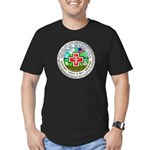 Medical Marijuana Men's Fitted T-Shirt (dark)