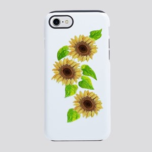 SUNFLOWERS  BOTTLE iPhone 7 Tough Case