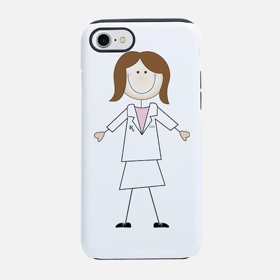 Female Pharmacist iPhone 7 Tough Case