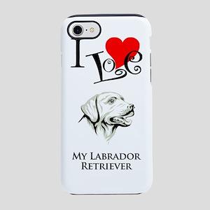 Labrador RetrieverK iPhone 7 Tough Case