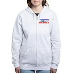 Hemp: Earth's #1 Resource Log Women's Zip Hoodie