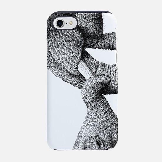 African Eelphant and Calf iPhone 7 Tough Case