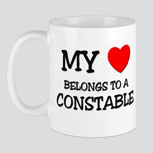 My Heart Belongs To A CONSTABLE Mug