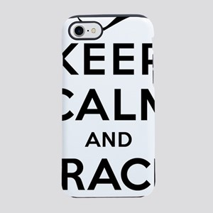 Keep Calm and Frack On iPhone 7 Tough Case