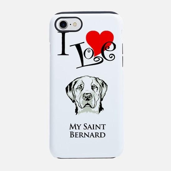 Saint BernardK.png iPhone 7 Tough Case
