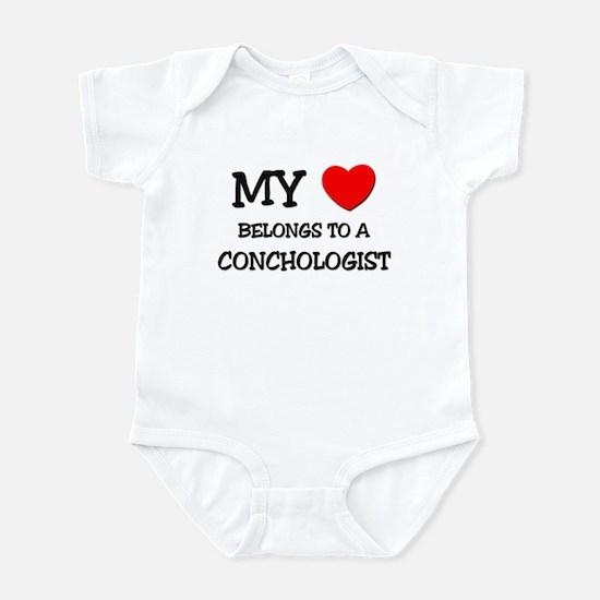 My Heart Belongs To A CONCHOLOGIST Infant Bodysuit