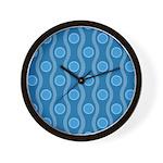 Bombshell Blues Wall Clock