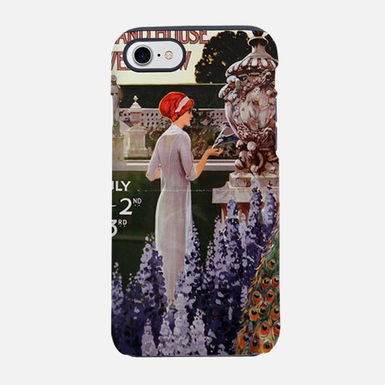 flower show iPhone 7 Tough Case