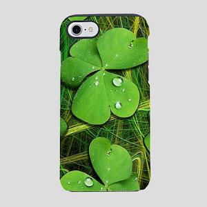 Shamrock Clover St Patrick iPhone 7 Tough Case