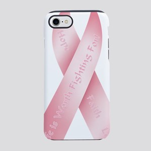 aaPinkRibbon06 iPhone 7 Tough Case