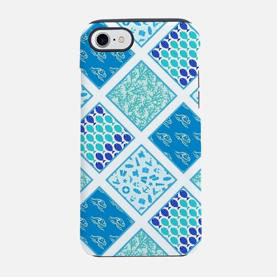 SUMMER BLUES iPhone 7 Tough Case