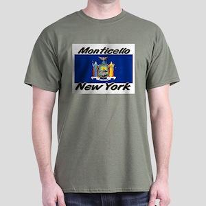 Monticello New York Dark T-Shirt
