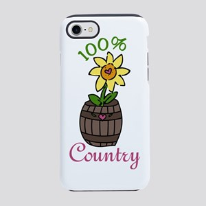 100% Country iPhone 7 Tough Case