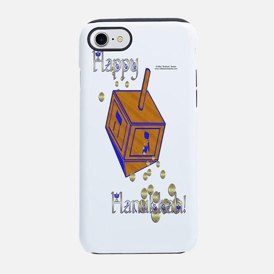Bottle_DreidelGold.png iPhone 7 Tough Case