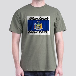Montauk New York Dark T-Shirt