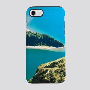 Lake in the Azores iPhone 7 Tough Case