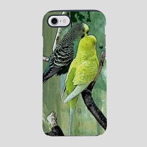 Budgie Art iPhone 7 Tough Case