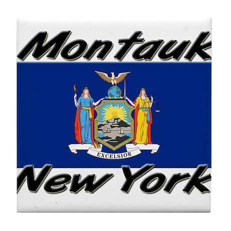 Montauk New York Tile Coaster