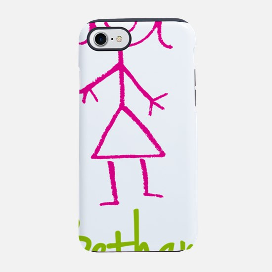 Bethany-cute-stick-girl.png iPhone 7 Tough Case