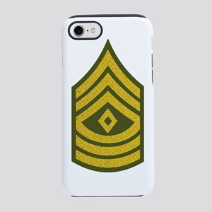 2-Army-1SG-Gold-Green-Fancy.pn iPhone 7 Tough Case