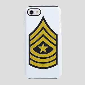 Army-SGM-Gold-Blue-Fancy iPhone 7 Tough Case