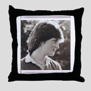 princess diana4 Throw Pillow