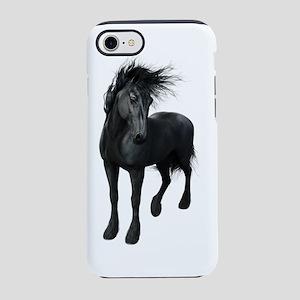 Gothic Friesian Horse iPhone 7 Tough Case