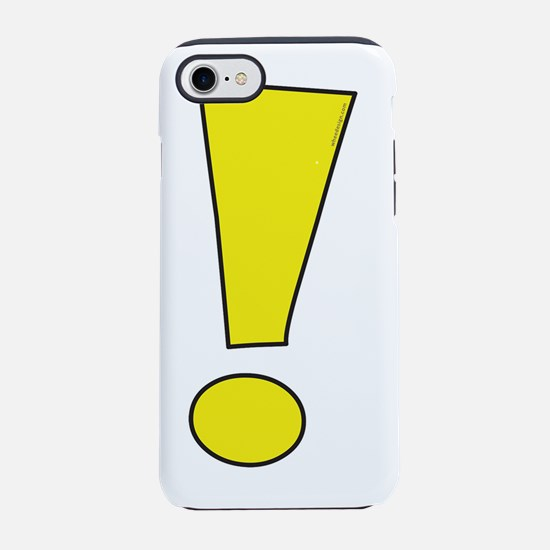 The Whee! Exclamation Point iPhone 7 Tough Case