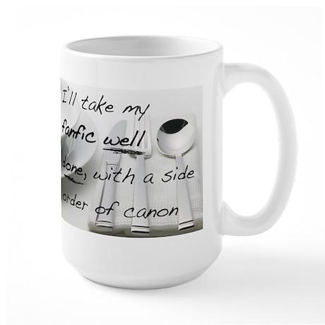 Fanfic Large Mug