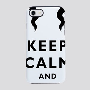 Mustache-016-A iPhone 7 Tough Case