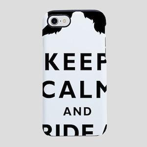 Mustache-034-A iPhone 7 Tough Case