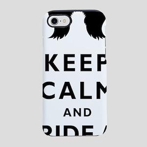 Mustache-052-A iPhone 7 Tough Case