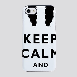 Mustache-057-A iPhone 7 Tough Case