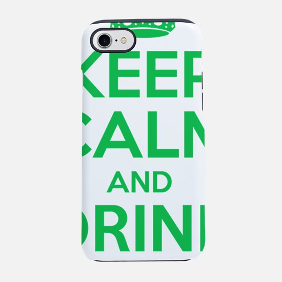 Keep Calm and Drink Beer iPhone 7 Tough Case