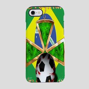 FootballSpiceBottle_Brazil iPhone 7 Tough Case