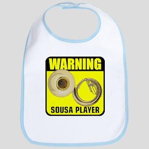 Warning: Sousa Player Bib