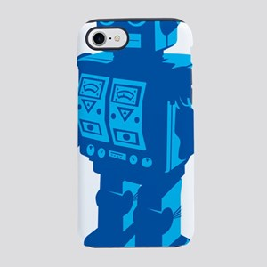 Robot Blue iPhone 7 Tough Case