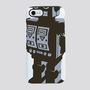 Robot Brown iPhone 7 Tough Case