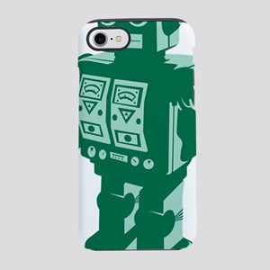 Robot Green iPhone 7 Tough Case