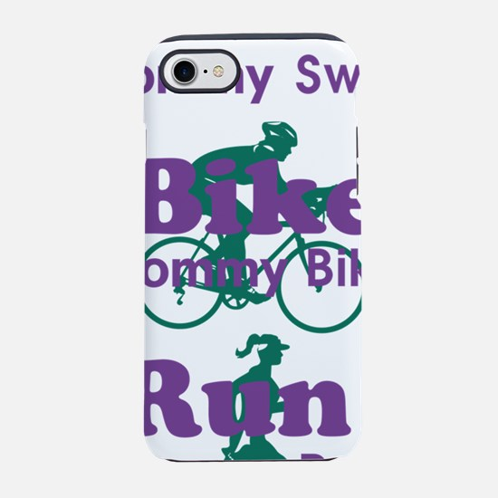 triathlonMommy-TNT-with-icon.p iPhone 7 Tough Case