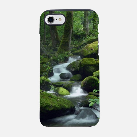 Summer Forest Brook iPhone 7 Tough Case