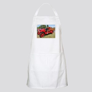 Lyme, Ct fire engine BBQ Apron