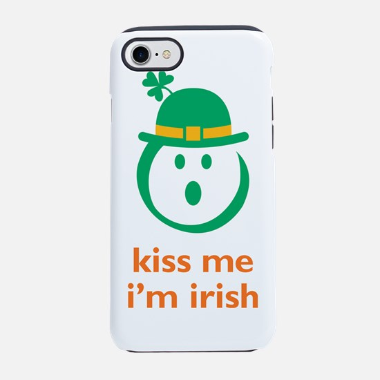 kiss me irish 7x7.png iPhone 7 Tough Case