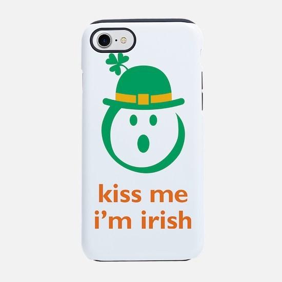 kiss me irish 10x10.png iPhone 7 Tough Case