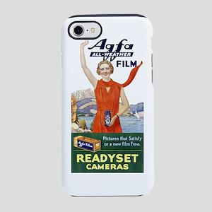 Vintage Agfa Film Ad T-Shirt iPhone 7 Tough Case