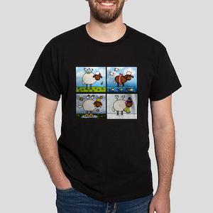 Sheep of All Seasons Dark T-Shirt