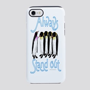 Stand Out Penguin iPhone 7 Tough Case